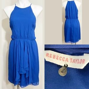 Rebecca Taylor Womens Spaghetti Strap Dress